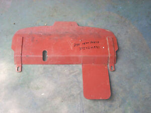 Farmall 240 Utility Tractor Heat Shield 372424r91