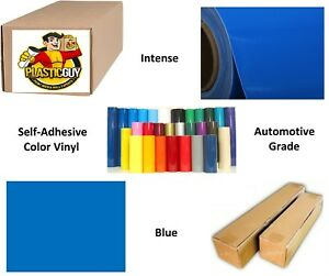 30 X 50yd Blue 067 Oracal 651 Graphic Sign Cut Vinyl private Label