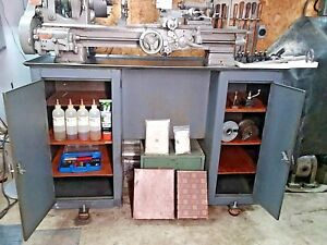 South Bend 9 A Workshop Lathe Cl8744r Loaded Beautiful Mill Machinist Tool
