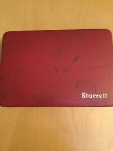 Starrett Universal Dial Test Indicator No 196 Original Hard Case Good Condition