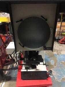 S t 14 Vertical Optical Comparator 10x 20x Lenses Used