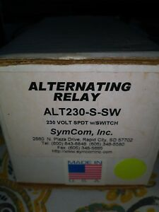 Alternating Relay Alt230 s sw 230 Volt Spdt W switch