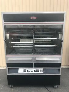 Old Hickory N7 7g Natural Gas Large Batch Rotisserie Oven