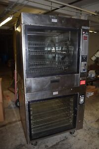 Henny Penny Sure Chef Tr 8 Mr 8 Double Stack Electric Chicken Rotisserie Oven