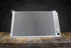 Aluminum Radiator Fit Chevy 1970 81 Camaro 78 87 Monte Carlo G body 3 Rows