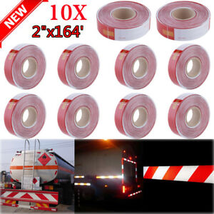 Lot 1 20 Roll 2 x164 Dot c2 Reflective Safety Conspicuity Tape Truck Trailer Us