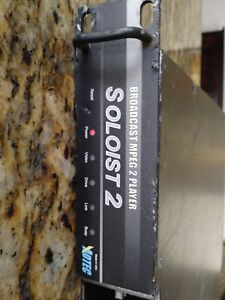 Adtec Soloist 2 Broadcast Mpeg 2 Player Power Up 4 Parts