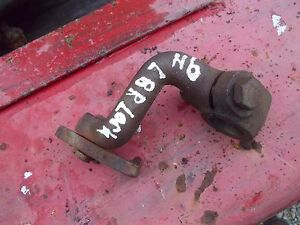 Ford 9n Tractor Original Brake Lock Bracket For End Of Pedal Shaft