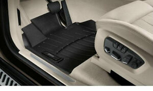 Bmw Black All Weather Floor Liners 2014 2017 X5 Front Rear 3rd Row 82112285514