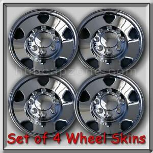 2006 2007 Ford F 250 Wheel Skins Hubcaps Ford Truck Chrome Wheel Covers
