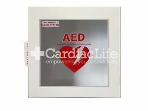 Universal Alarmed Aed Cabinet By Cardiac Life