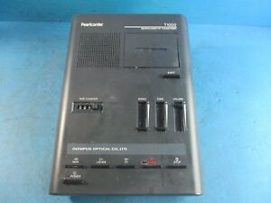 Olympus Pearlcorder T1000 Microcassette Transcriber Used