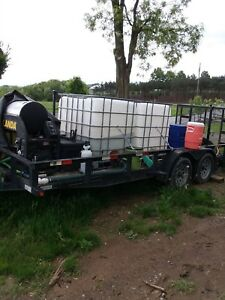 Landa Powerwasher Mobile Trailer
