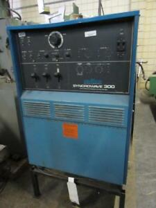Miller Syncrowave 300 Ac dc Tungsten arc Welding Power Source