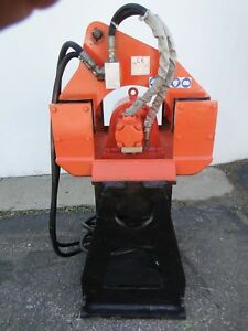 Stanley Hs6000 Hydraulic Vibratory Plate Compactor Tamper W custom Extension