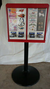 4 column Sticker Tattoo Flat vend Bulk Vending Machine