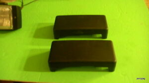 2 New Covers For Bosch Fog Light Driving Lamps Lights Jaguar Others