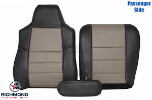 2005 Ford Excursion Eddie Bauer Passenger Side Complete Leather Seat Covers