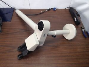 Nikon Teaching Microscope Bridge With Stand Support Two Head Optiphot Labophot