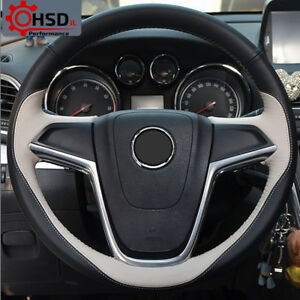 Genuine Leather Steering Wheel Cover For Buick Excelle Xt Gt Encore Opel Mokka