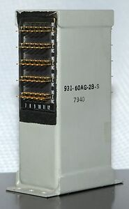 T bar Relay 931 60ag28 s 60 Form A n o Solder Contacts 28vdc Nos