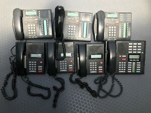 Nortel Network Norstar Phones System set Of 7 it s Perfectly Working