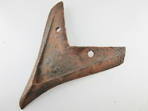 Old Rusty Horse Drawn Hill Side Walking Plow Piont Share Farm Part Marked h