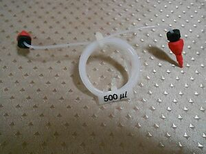 Sample Loop 500ul W 2 X M6 Tubing Connector Amersham Pharmacia Ge Healthcare