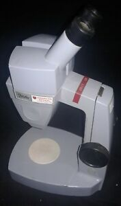 Vintage American Optical Stereoscopic Scientific Microscope Forty 40 43 3