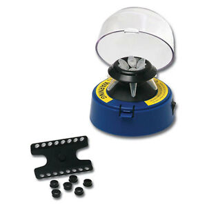 Benchmark Scientific Bsc1006 b Blue Mini centrifuge With 2 Rotors