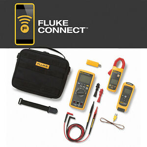 Fluke Flk 3000 Fc Hvac Multimeter Ac Current Temperature Hvac Kit