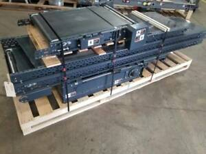 Vanderlande Slider Bed Belt Incline Conveyor 24 X 25 9 Nice sb6