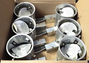 6 Nib Nos 6 Elco El7rica Remodel Housing Recessed Air Tight Light Can Fixture