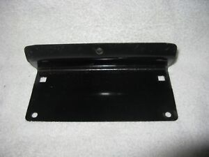 Nos Mopar 1973 76 Plymouth Duster Front License Plate Bracket