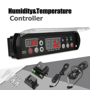 Easy Digital Temperature Humidity Controller Precise Thermostat Hygrostat Sensor