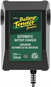 Battery Tender 021 0123 Junior 12v 0 75a Battery Charger