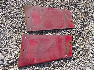 Farmall 544 Tractor Nice Original Ih Ihc Front Hood Radiator Side Panel Panels