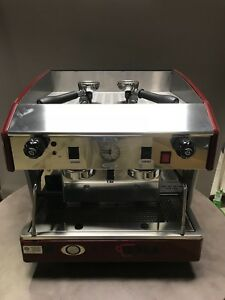 Wega Atlas Epu Semi Automatic Espresso Cappuccino Machine 2 Group