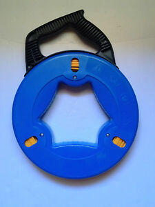 Ezitown Blue Cable Puller Fiberglass Wire Reusable Electrical Fish Tape