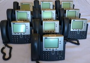 Lot Of 10 Cisco Systems 7941 Series Ip Office Business Phones