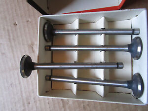 Case Vac 300 Nos Exhaust Valves Vta2635 Vt3233 New Old Stock Tractor