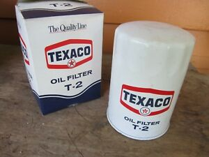 Nos Amc Buick Olds Jeep Case Vintage Texaco T2 Ac P10 Oil Filter
