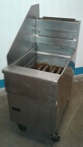 Pitco Single Deep Fryer Sg18 65 Lb 140 000 Btu Natural Gas