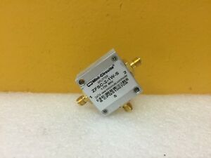 Mini circuits Zfsc 2 1w s 1 To 750 Mhz Sma f Coaxial Power Splitter Tested