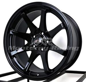 18x9 5x105 Str 903 Gloss Black Made For Chevy Cruze Sonic