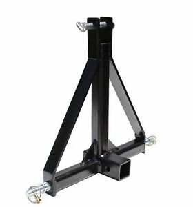 3 Point 2 Receiver Trailer Hitch Category 1 Tractor Tow Hitch Drawbar Adapter