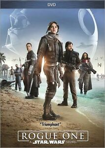 Rogue One: A Star Wars Story (DVD 2017) SHIPS IN 1 BUSINESS DAY WTRACKING