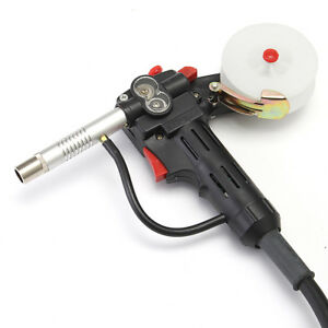 6ft Mig Welder Spool Gun Push Pull Feeder Aluminum Welding Torch W 2m Wire Cable