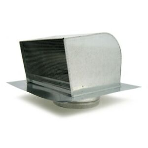 Fantech Rc10 Galvanized Steel Roof Cap For 10 Duct