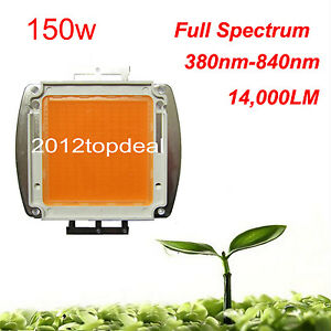 150w 380nm 840nm High Power Full Spectrum Led Chip Grow Light For Hydroponics